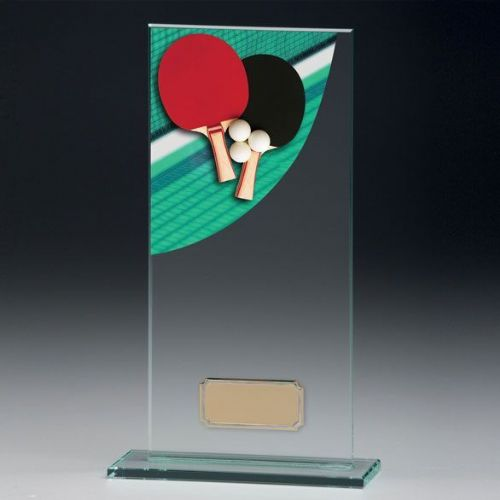Colour-Curve Table Tennis Jade Crystal 160mm